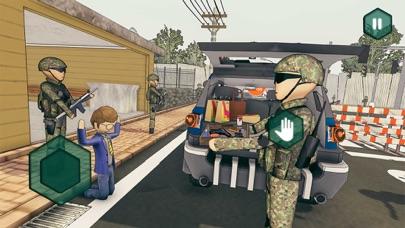 Border Patrol -Stickman Police Screenshot on iOS