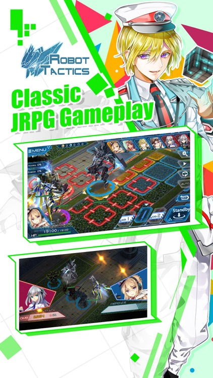 Robot Tactics – Strategy JRPG screenshot-4