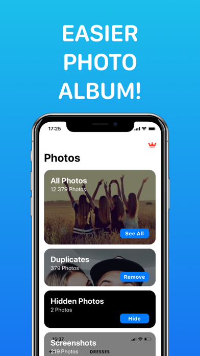 Photo Finder: iCloud&Duplicate Screenshot