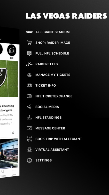 Raiders + Allegiant Stadium