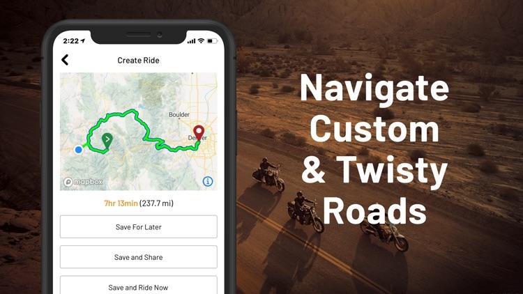 REVER - Motorcycle GPS & Rides screenshot-3