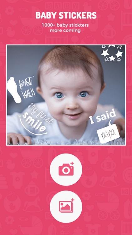 Baby Photo Editor & Baby Story screenshot-8