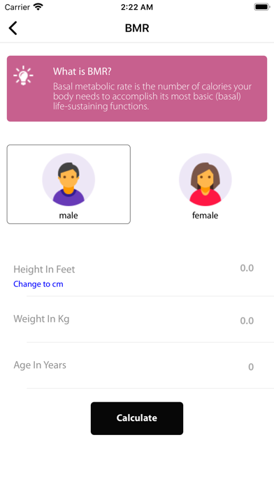 Stay Fit - Fitness & Nutrition screenshot 1