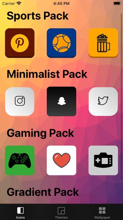 App Skins - Icons & Themes screenshot-5