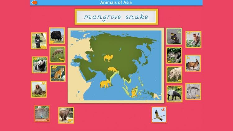 Montessori - Animals of Asia screenshot-5