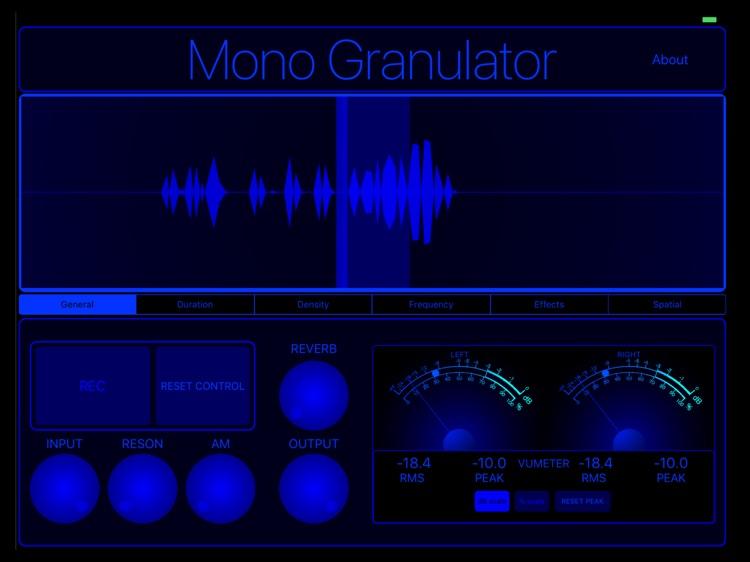MonoGranulator