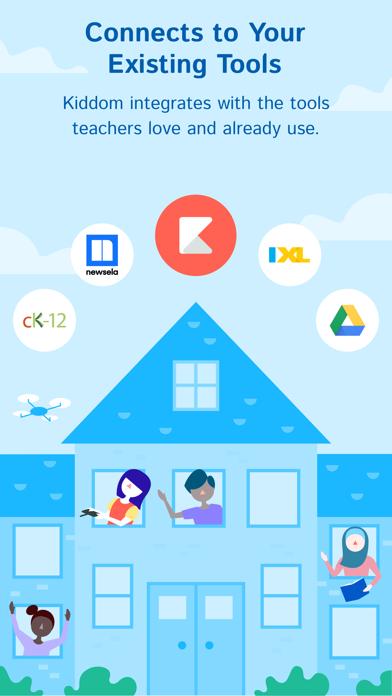 messages.download Kiddom Classroom software