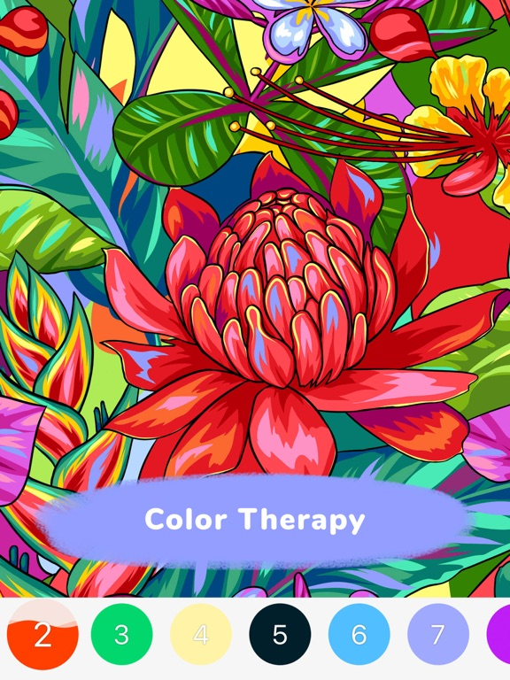 iPaint-Color By Number Game screenshot 13