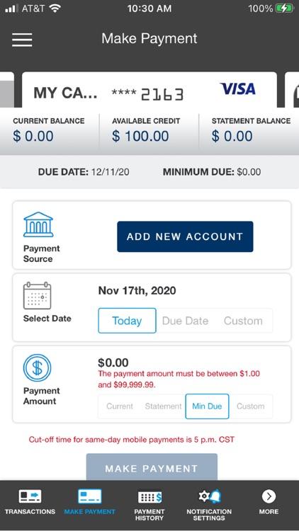 CW Card Controls screenshot-3
