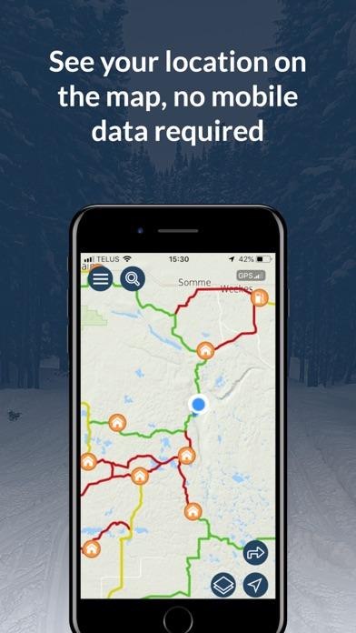 Sask Snowmobile Trails screenshot 2