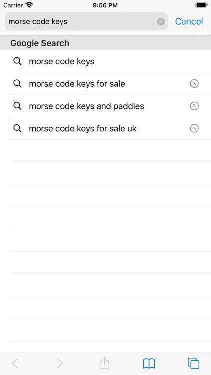 Morse Code Keys