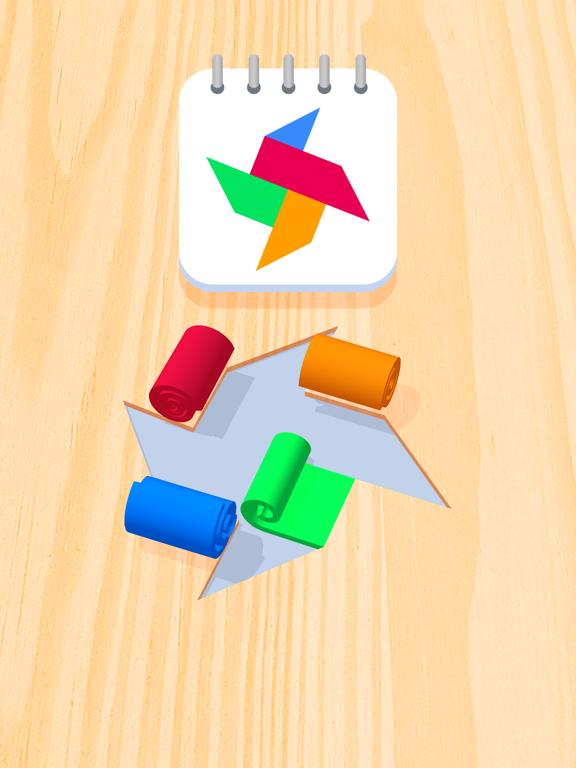 Color Roll 3D iPad captures décran