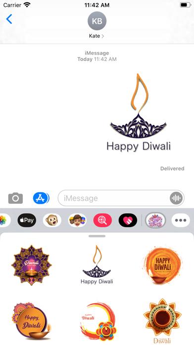 Diwali Festival Light Stickers screenshot 1