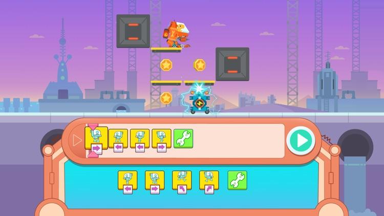 Dinosaur Coding games for kids screenshot-4