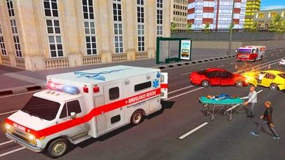 市 救急車 救援 運転のおすすめ画像2