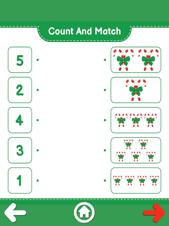 Count And Match XMas screenshot 19