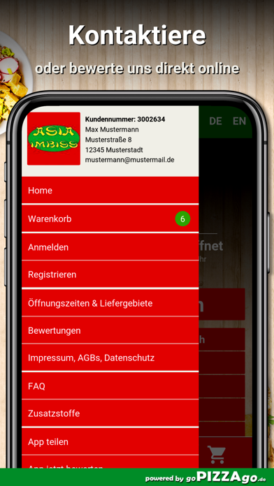 Asia Imbiss Hamburg Barmbek screenshot 3