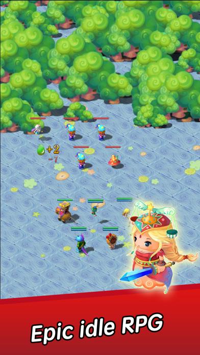 Angel Town 8- idle games screenshot 1