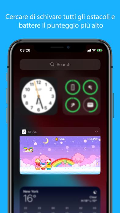 Steve - Widget di gioco iPhone