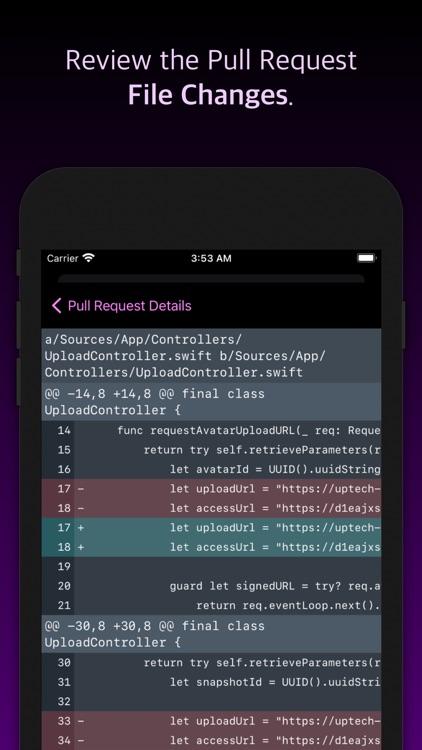 Pullwalla - Bitbucket & GitHub screenshot-4