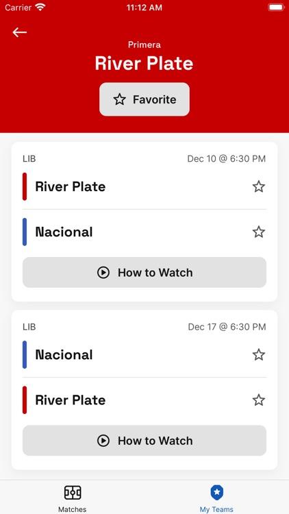 Soccer TV Schedules screenshot-6