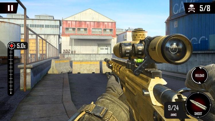 Modern Sniper Shooter Shooting