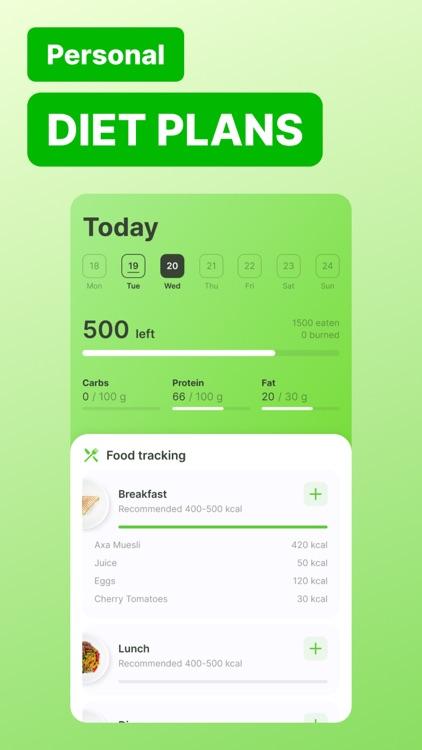 FoodTracker: Track My Calories screenshot-3