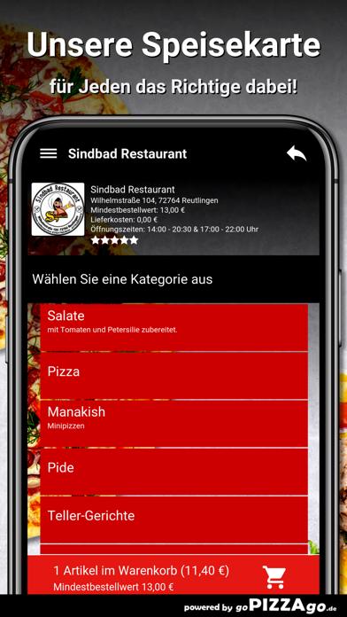 Sindbad Restaurant Reutlingen screenshot 6
