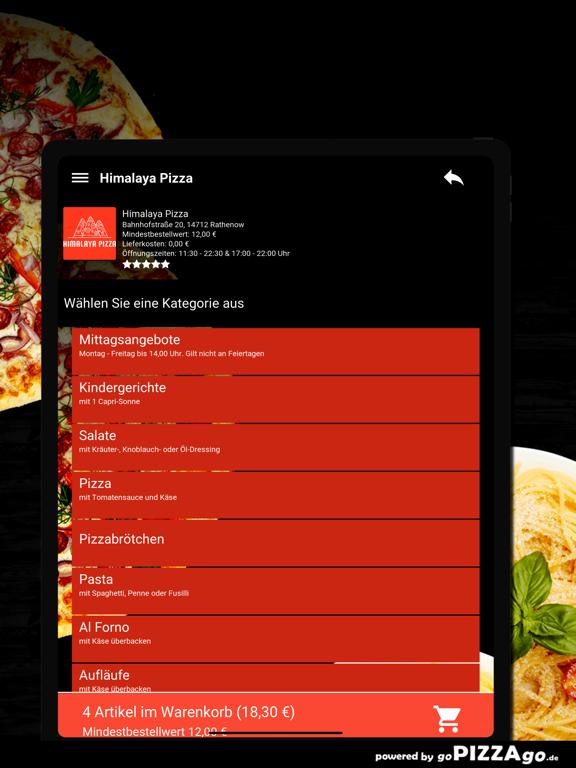Himalaya Pizza Rathenow screenshot 8