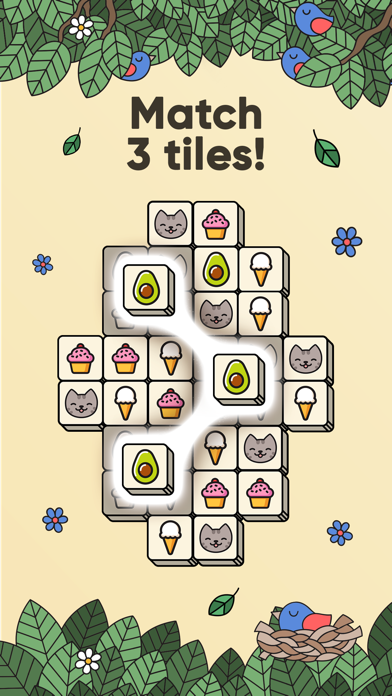 3 Tiles - Puzzle Match Game screenshot 1
