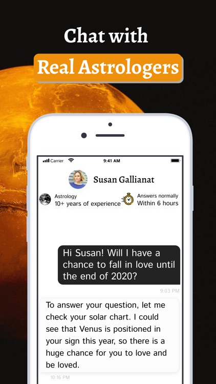 Astrology answers app