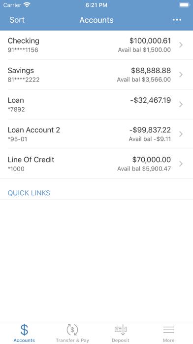 IH Credit Union Mobiliti™Screenshot of 3