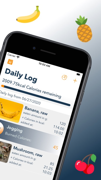 DietAssistant: Calorie Counter screenshot-1