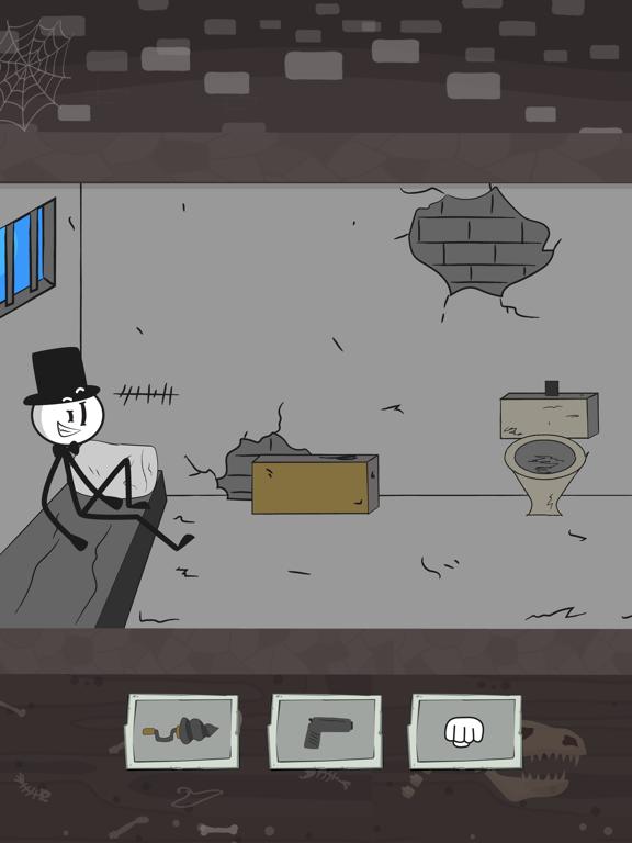 刑務所脱出:スティックマンストーリーのおすすめ画像1
