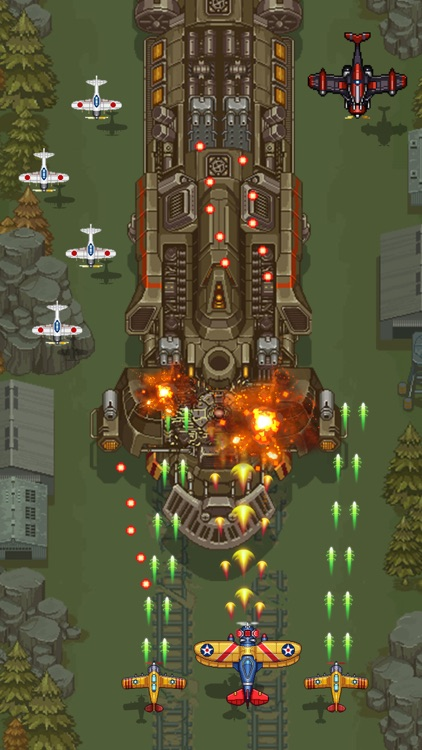 1945 - Airplane shooting games screenshot-9