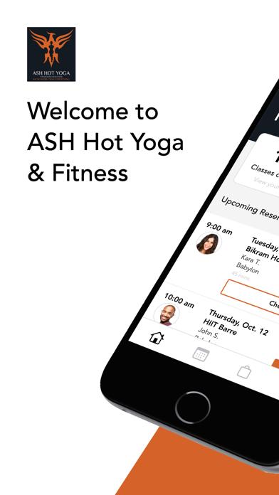 ASH Hot Yoga & Fitness screenshot 1