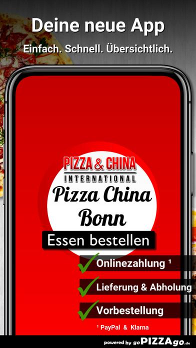 Pizza China Bonn Friesdorf screenshot 1