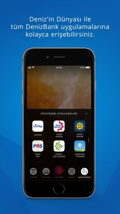 MobilDeniz iphone ekran görüntüleri