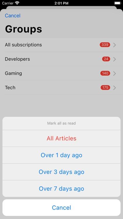 Fluent Reader Lite screenshot-4