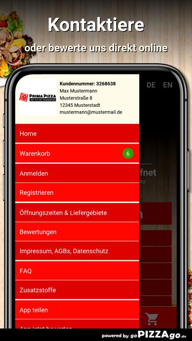 Prima Pizza Mainz screenshot 5