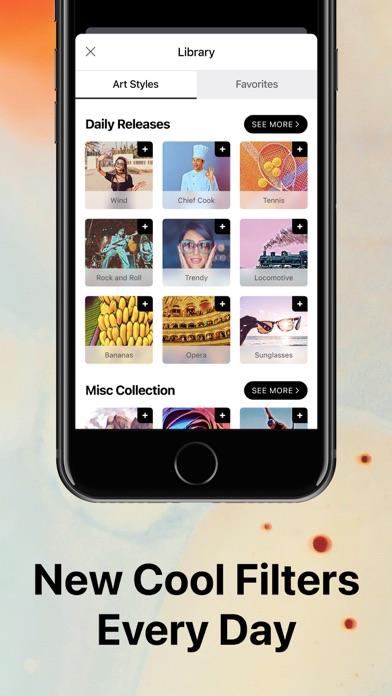 Prisma Photo Editor Screenshot on iOS