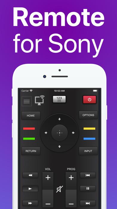 SonyMote :ソニー製テレビ用リモコンのおすすめ画像1