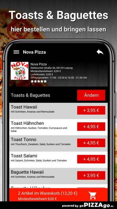 Nova Pizza Leipzig screenshot 6