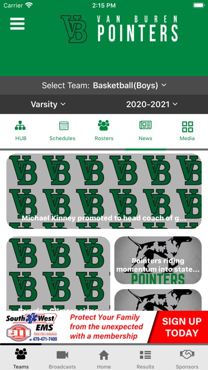Van Buren Pointers Athletics screenshot-7
