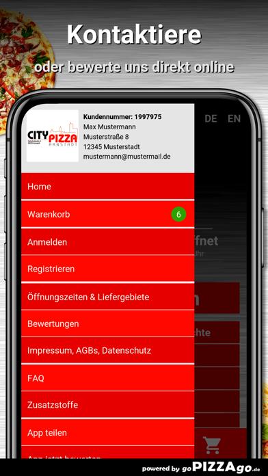 City Pizza Arnstadt screenshot 5