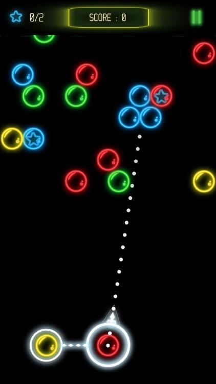 Bubble Shooter Glow screenshot-3