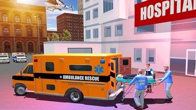 市 救急車 救援 運転のおすすめ画像1