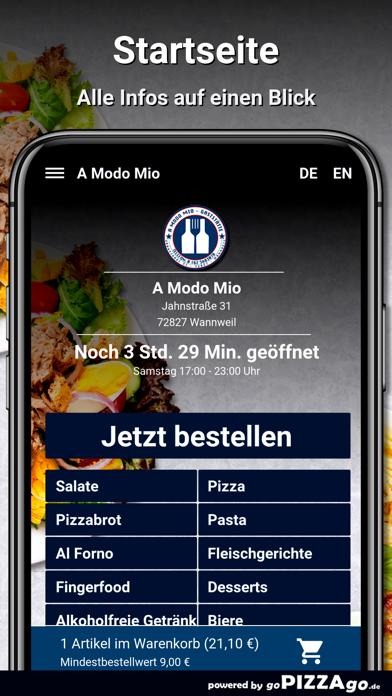 A Modo Mio Wannweil screenshot 2
