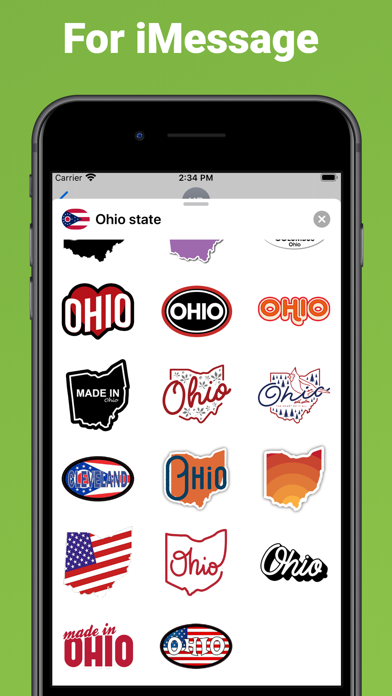 Ohio state - USA stickers screenshot 3