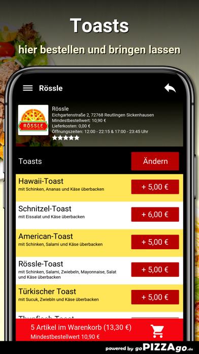 Rössle Reutlingen screenshot 6
